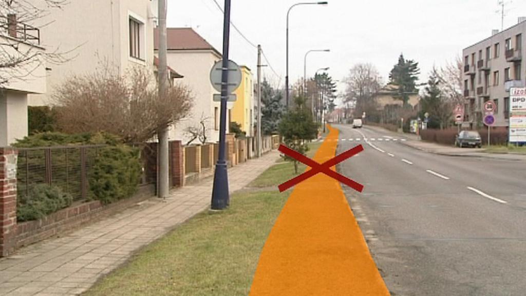 Zrušený návrh cyklostezky