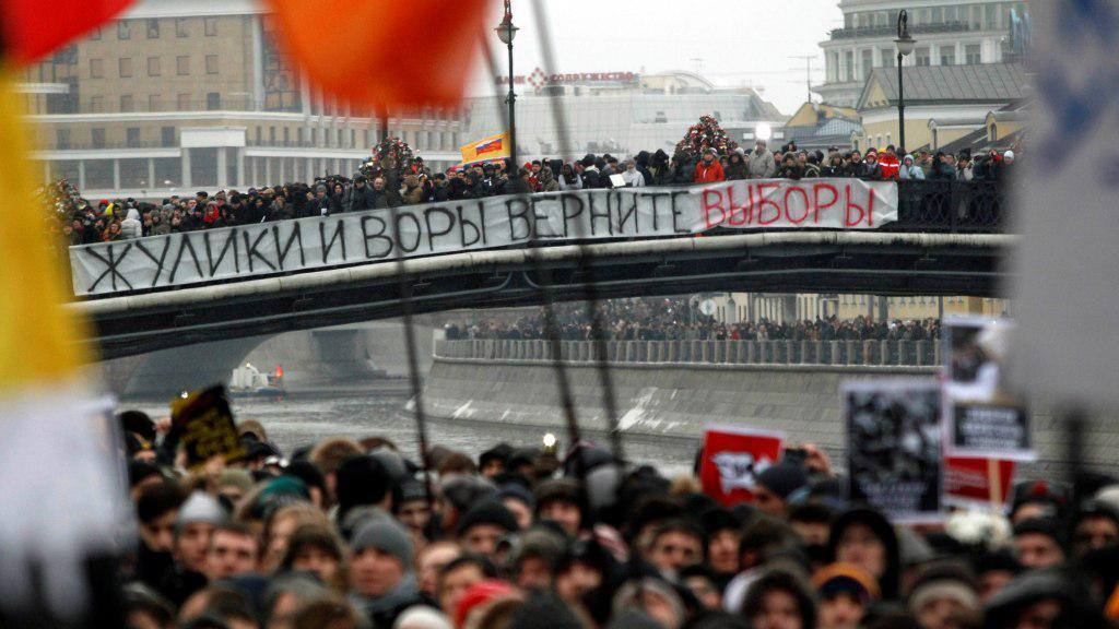 Protesty v Moskvě