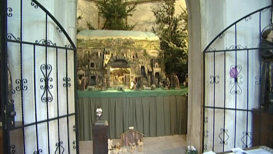 Historický betlém u svatého Jakuba