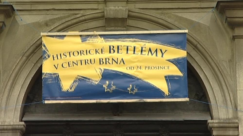 Kostely s betlémy označuje betlémská hvězda