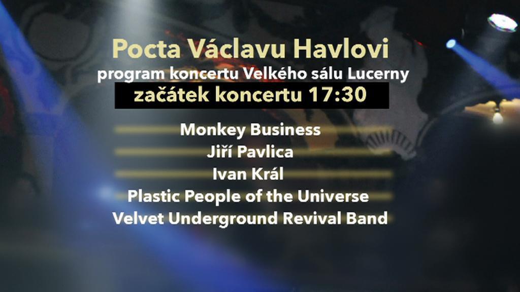 Pocta Václavu Havlovi / program