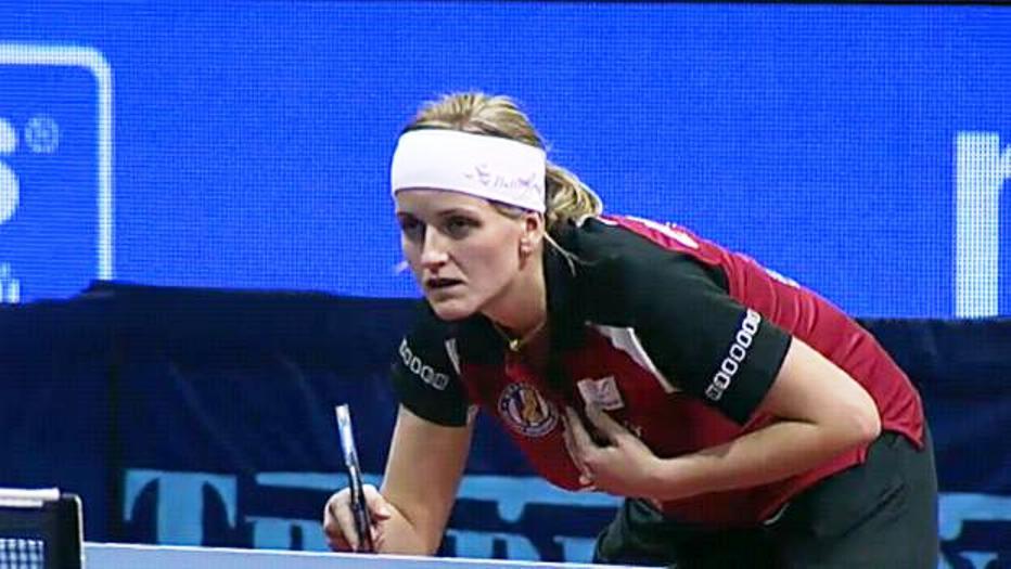 Lenka Harabaszová vyšla proti Ströcku naprázdno