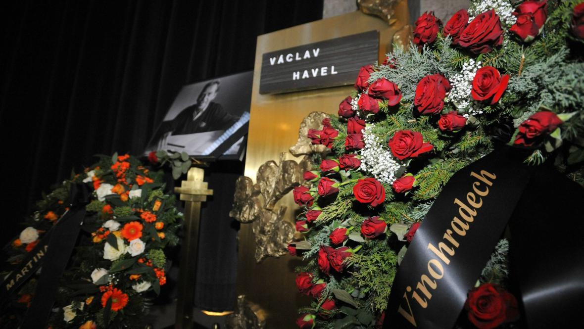 Poslední rozloučení s Václavem Havlem