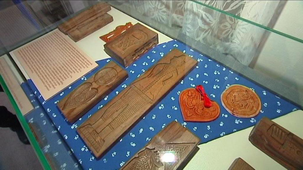 Slezské muzeum - výstava vyroby perníků