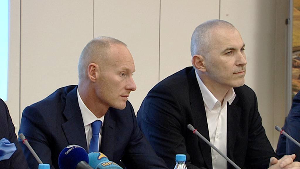 Petr Žaluda a Petr Fejk
