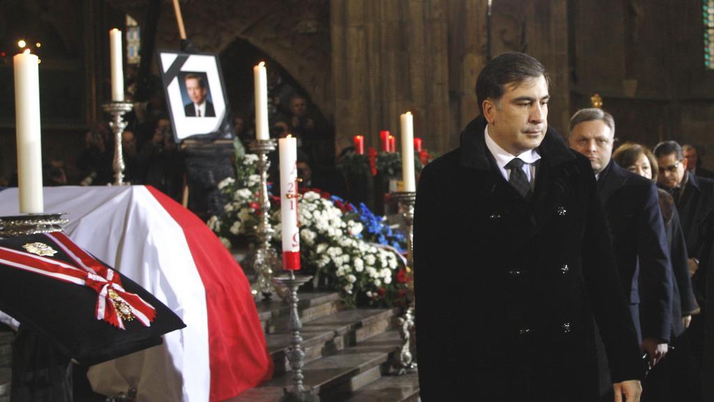 Gruzínský prezident Mikhail Saakašvili