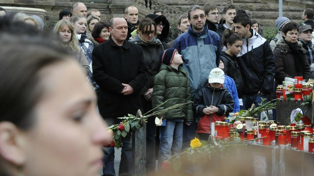Minuta ticha na Václavském náměstí