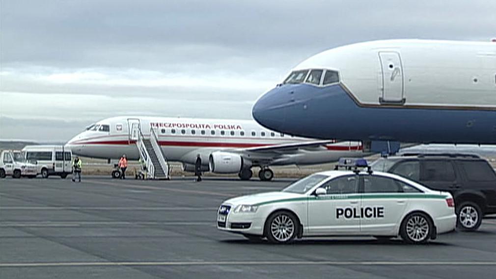 Letecké speciály na ruzyňském letišti