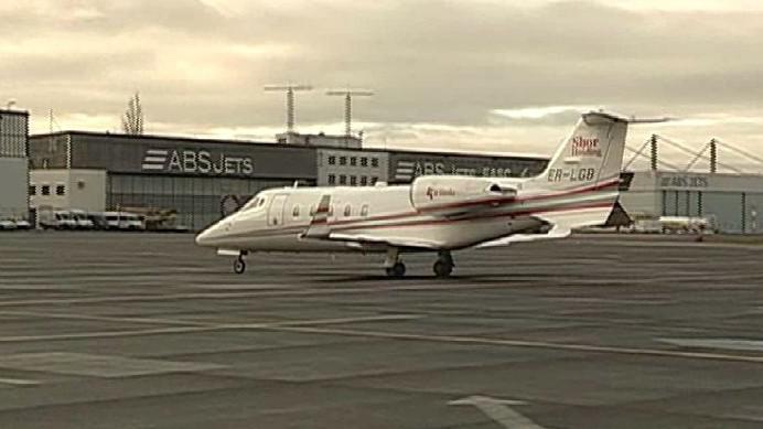Přílet státníků na ruzyňské letiště