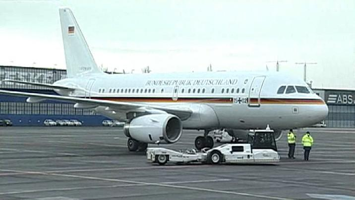 Německý speciál na ruzyňském letišti