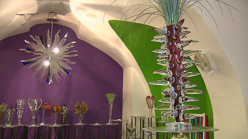 Váza podle návrhu Václava Havla