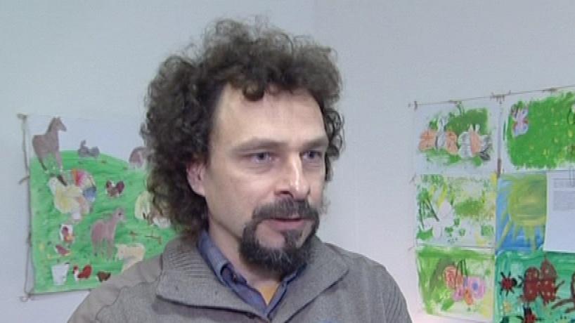 Psychoterapeut brněnského Klokánku Igor Nosál