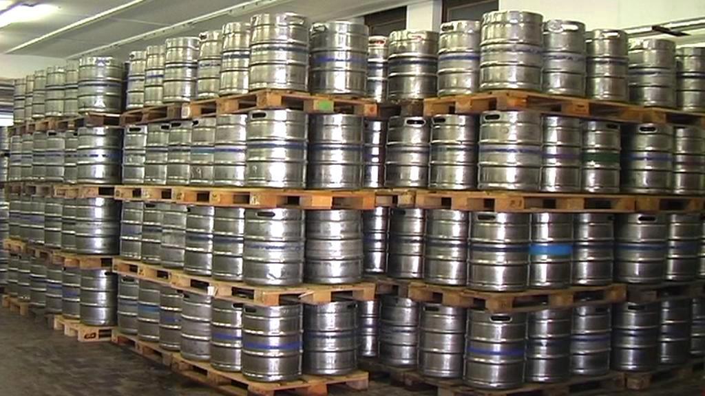 Pivní sudy