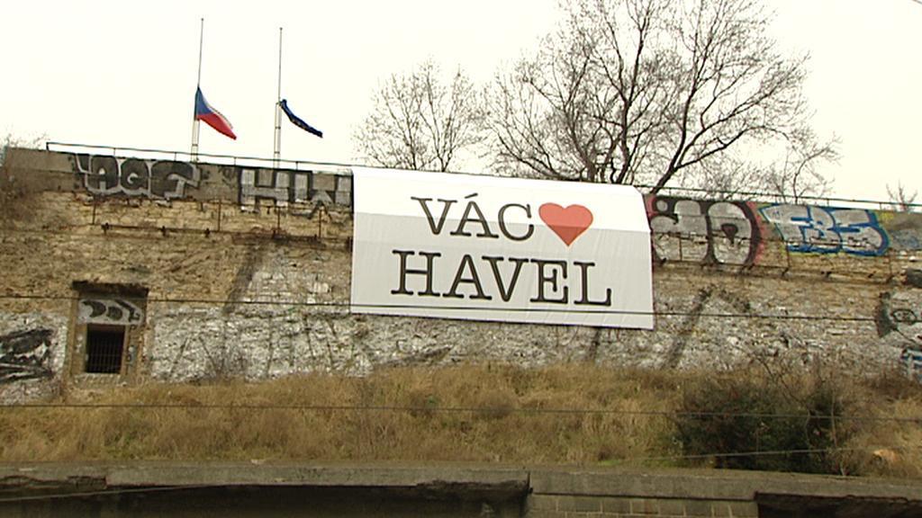 Loučení s Václavem Havlem