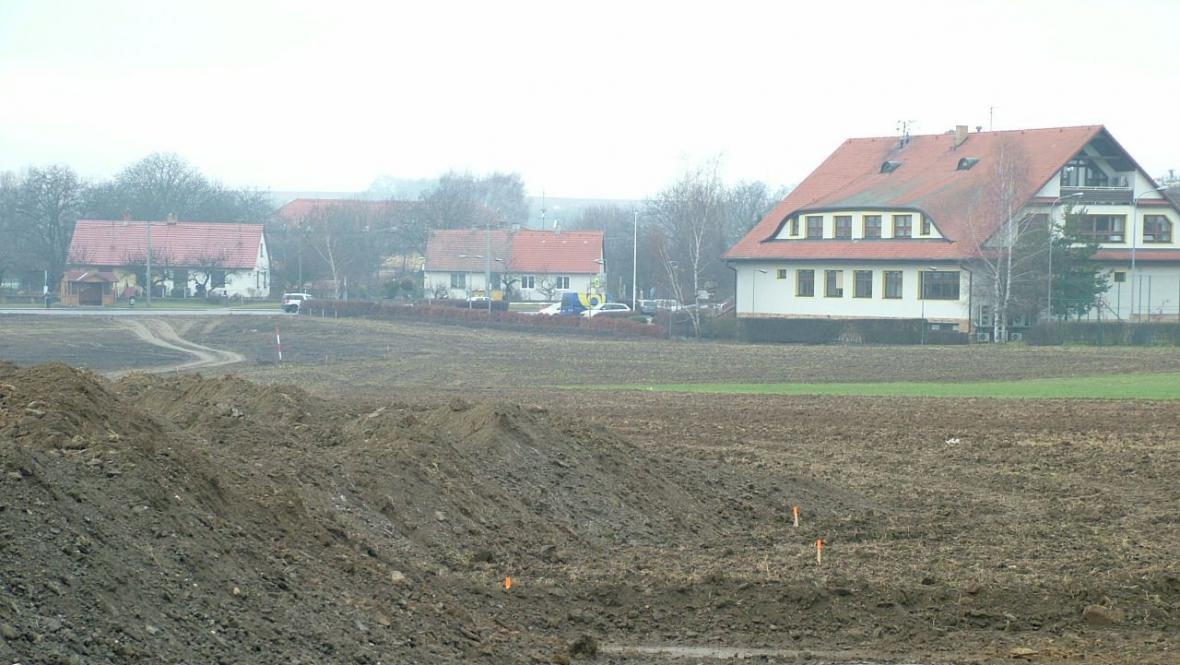 Přípravné práce pro stavbu obchvatu Znojma