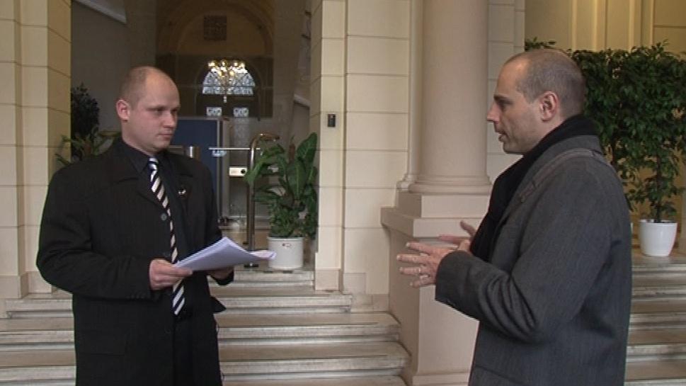 Mluvčí Ústavního soudu Vlastimil Göttinger