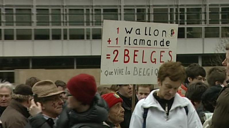 Stávka v Belgii