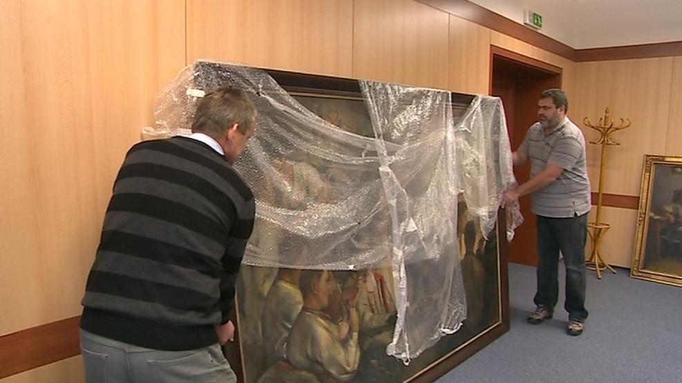 Obraz Karla Mináře chce koupit Velká nad Veličkou