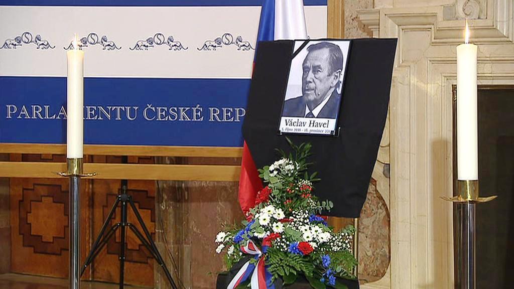 Vzpomínka na Václava Havla v Senátu