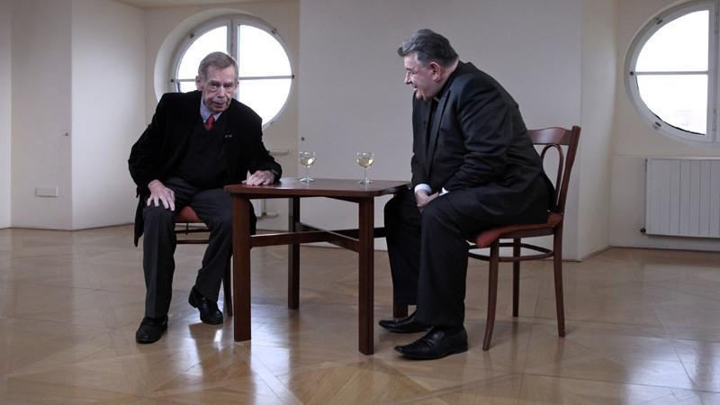 Václav Havel a Dominik Duka: společný výslech