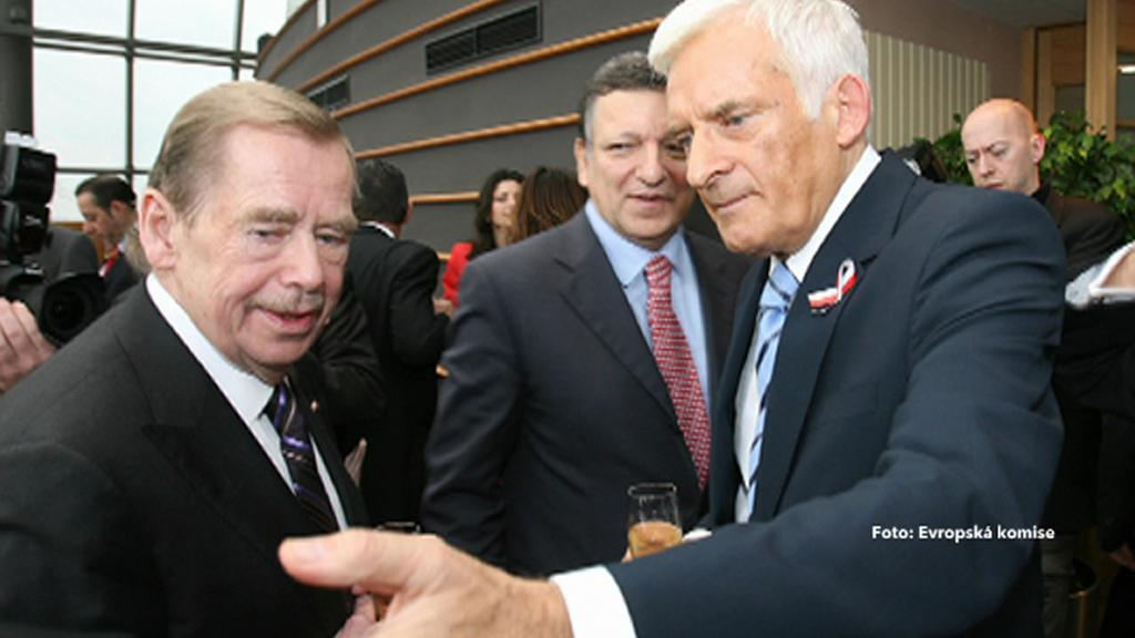 Václav Havel, José Manuel Barroso, Jerzy Buzek