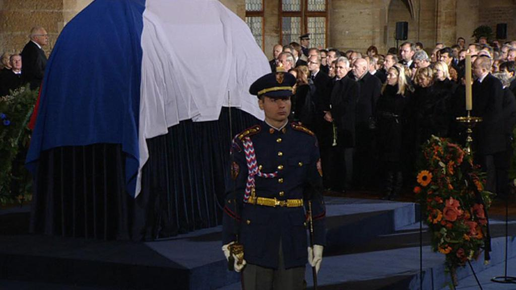Rozloučení s Václavem Havlem ve Vladislavském sále