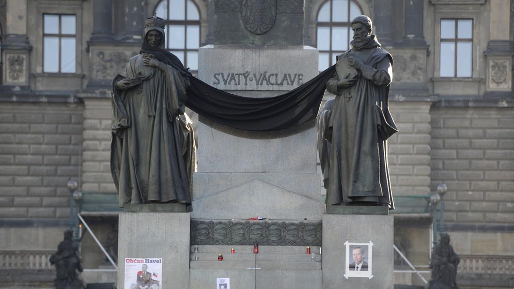Pieta za Václava Havla