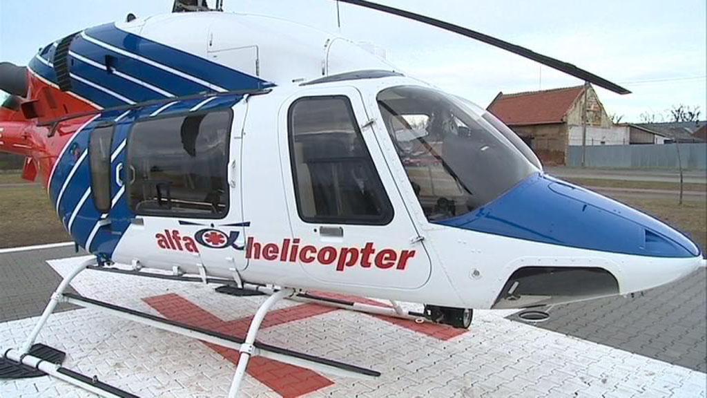 Nový heliport v Kojetíně