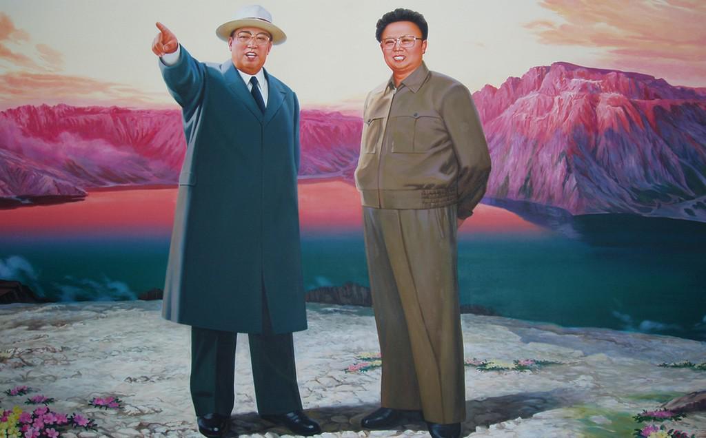 Kimové - otec a syn