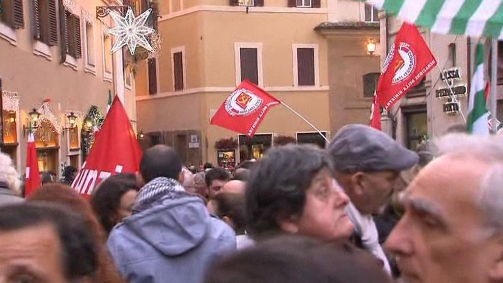 Stávka v Římě