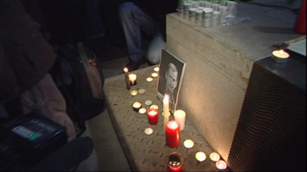 Lidé v Brně uctili památku Václava Havla