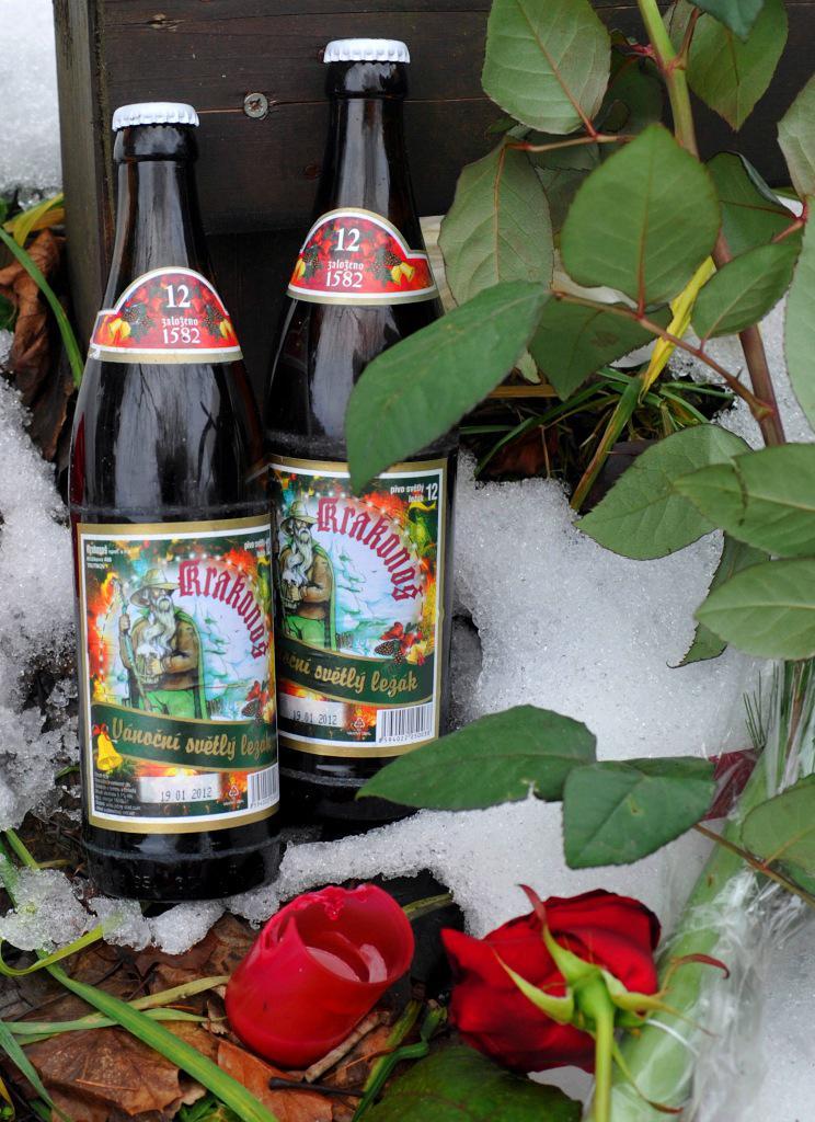 Lahvové pivo Krakonoš