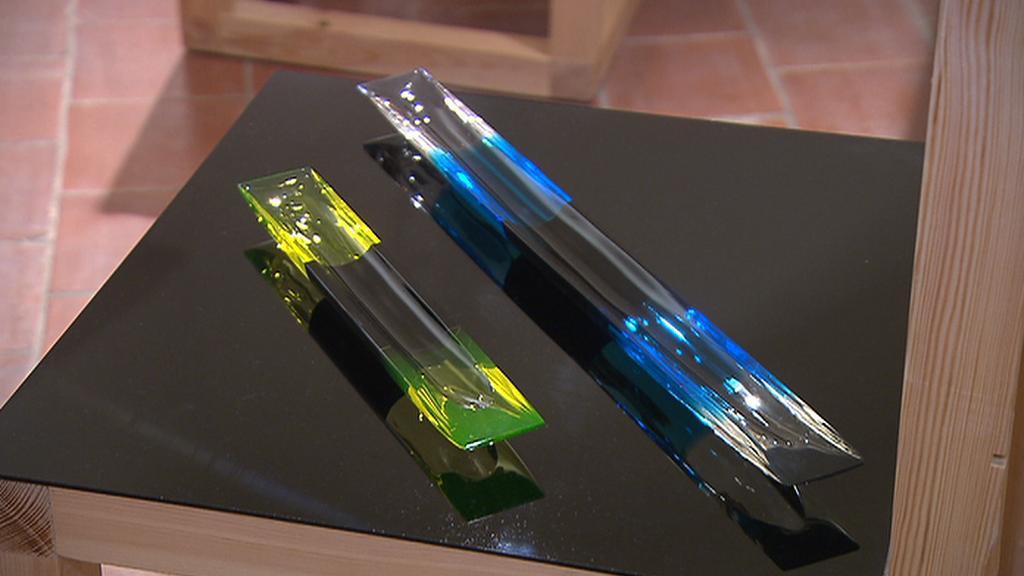Výstava studentských výrobků z Nového Boru