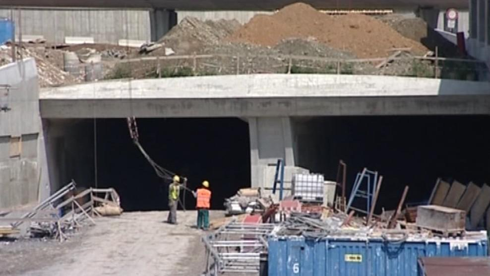 Stavba Králopolských tunelů