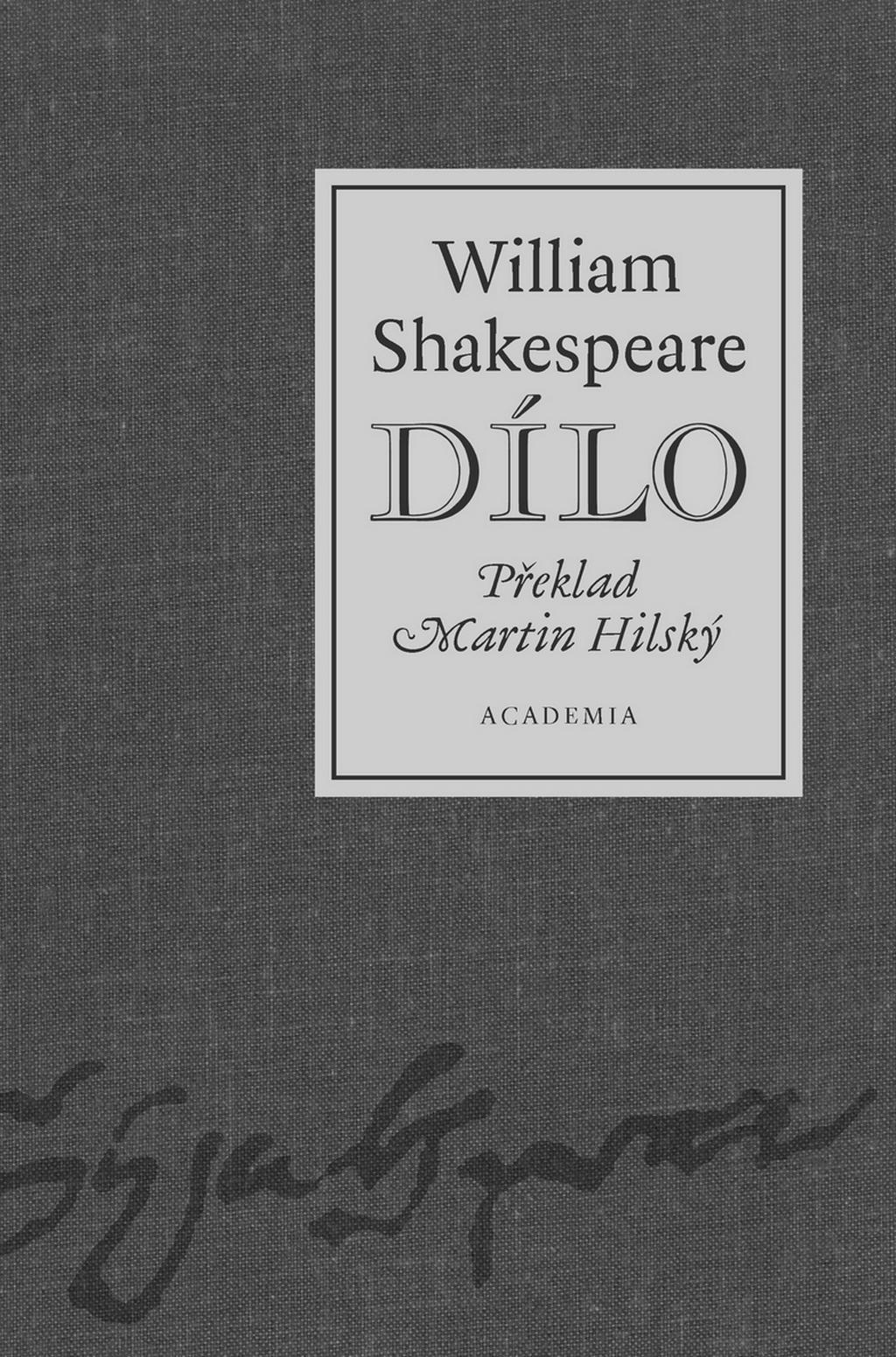William Shakespeare - dílo