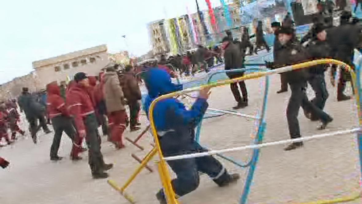 Nepokoje v Kazachstánu