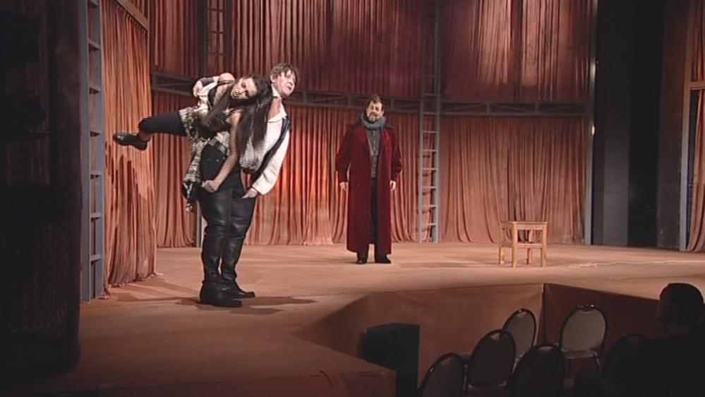 Zkrocení zlé ženy v Městském divadle v Brně