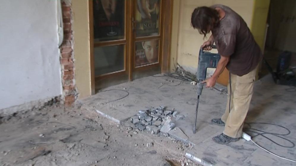 Rekonstrukce kina Nadsklepí