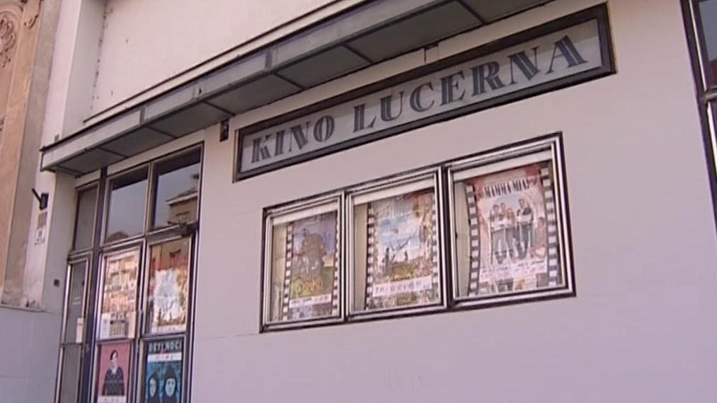 Kino Lucerna v Brně před rekonstrukcí