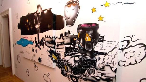 Graffiti Jakuba Matušky (2009)