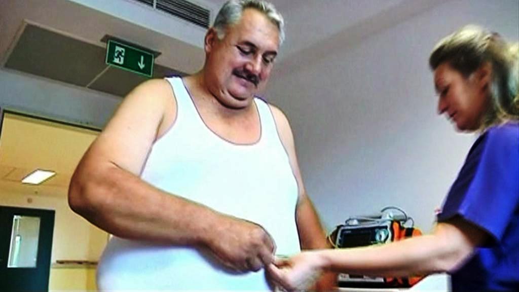 Obézní muž