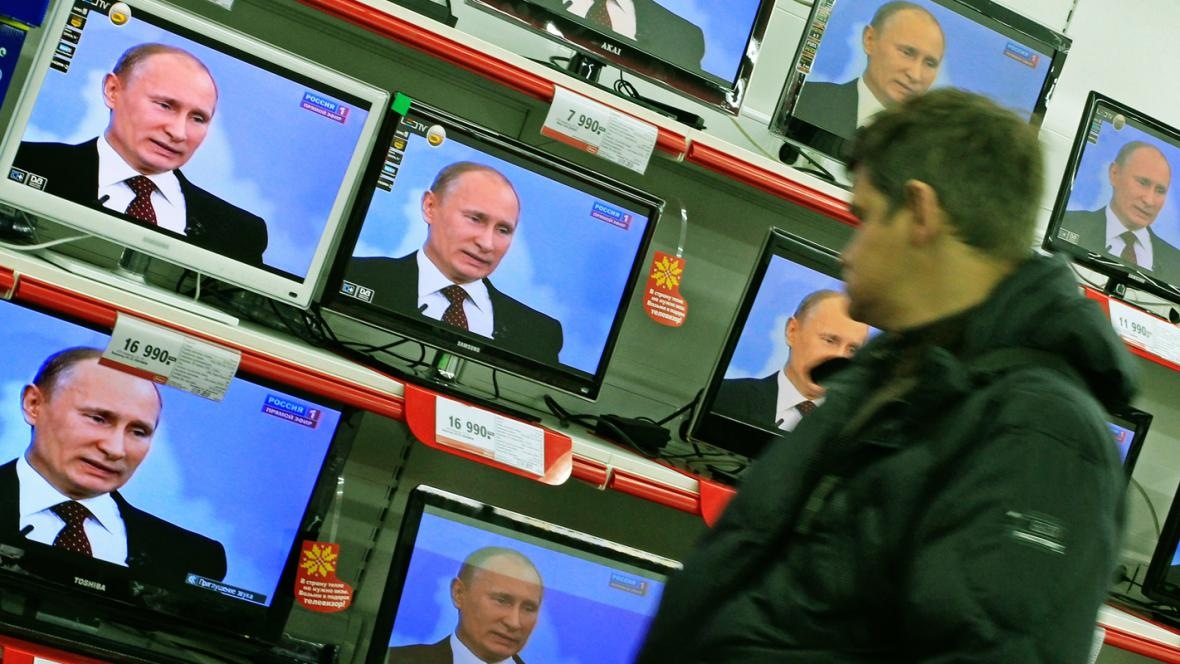 Vladimir Putin v televizní debatě