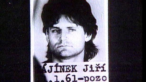 Vezeňské foto Jiřího Kajínka