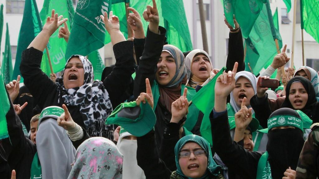 Hamas slaví výročí