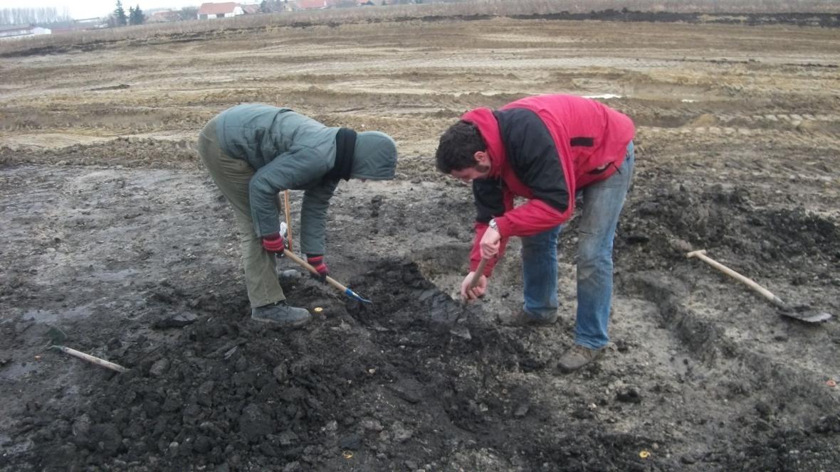Archeologové zkoumají v Novosedlech nově objevené keltské sídliště
