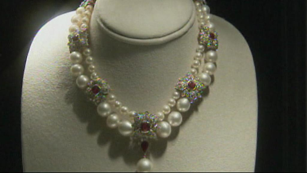 Diamantový náhrdelník