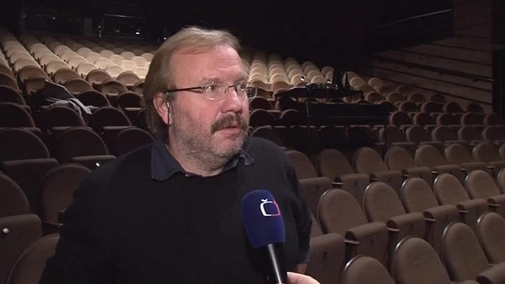 Ředitel Městského divadla v Brně Stanislav Moša