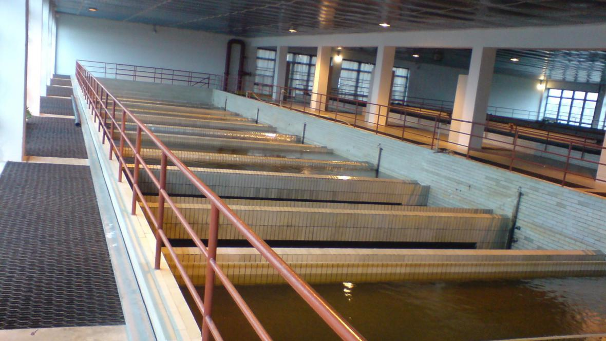 Úpravna vody ve Znojmě