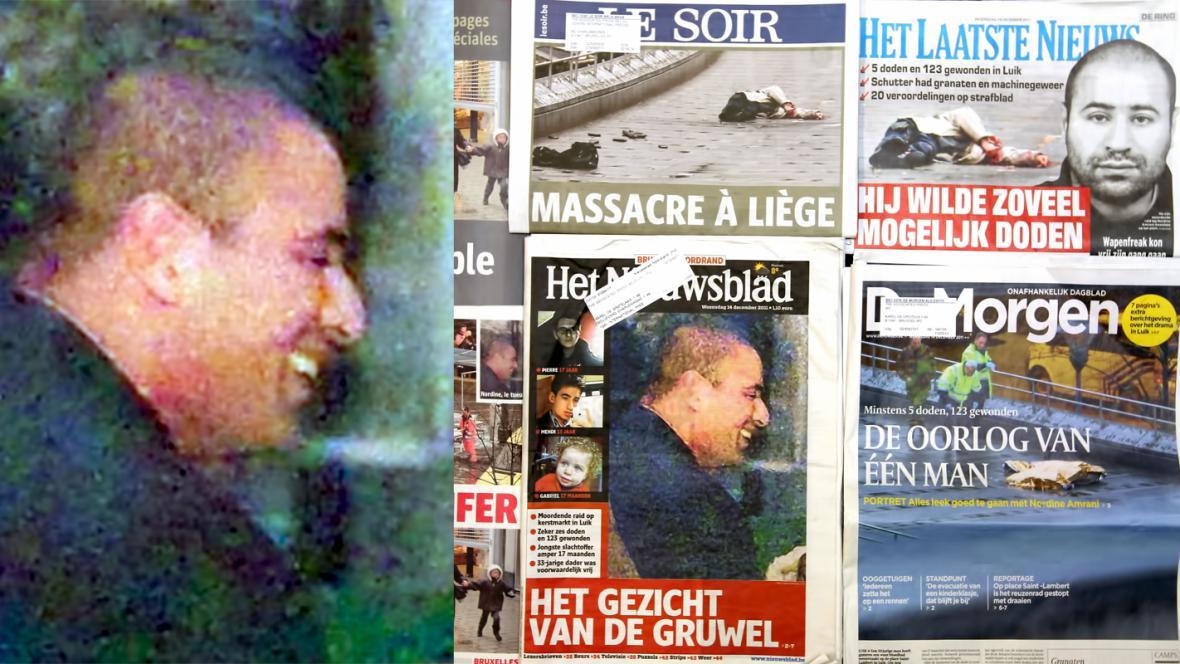 Belgický vrah Nordine Amrani