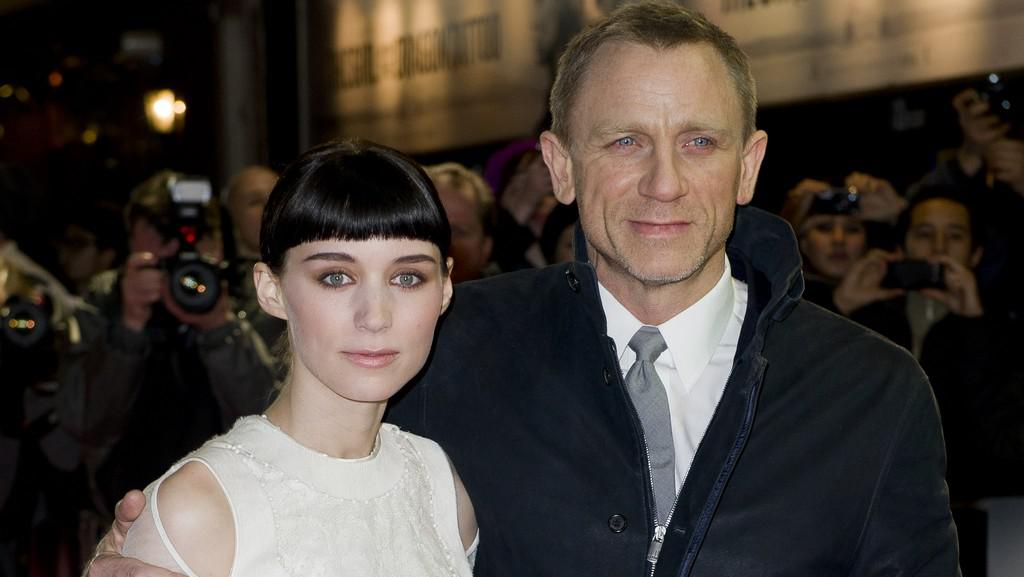 Rooney Maraová a Daniel Craig